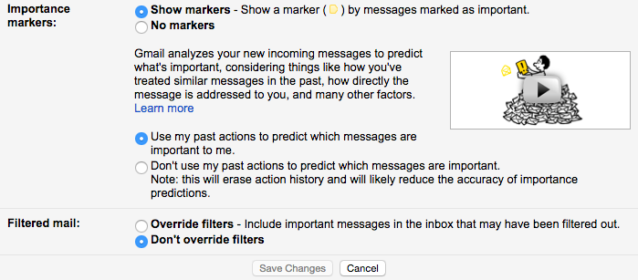 how to set up gmail multiple inboxes