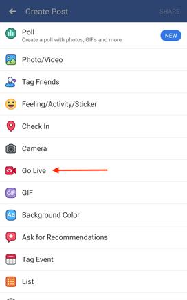 go-live-facebook-status
