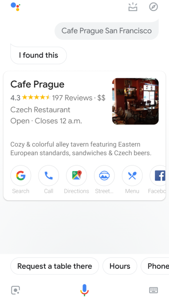 google-assistant-cafe-prague-san-francisco