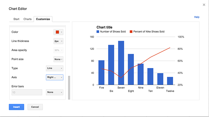 how to add secondary axis in excel pivot chart