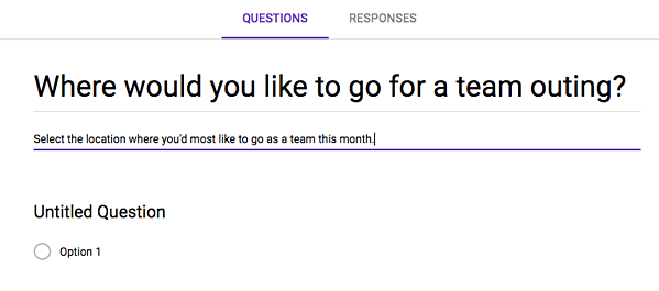 how to create a survey in google forms step 3