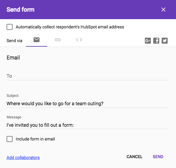 how to create a survey in google forms step 7