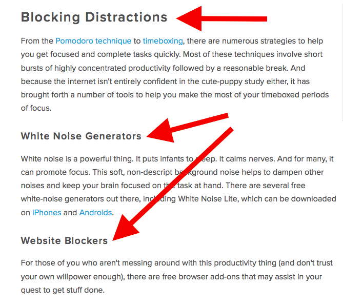 Header And Sub Headers Blog Posts.png  How To Write A
