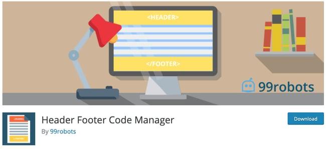header-footer-code-manager
