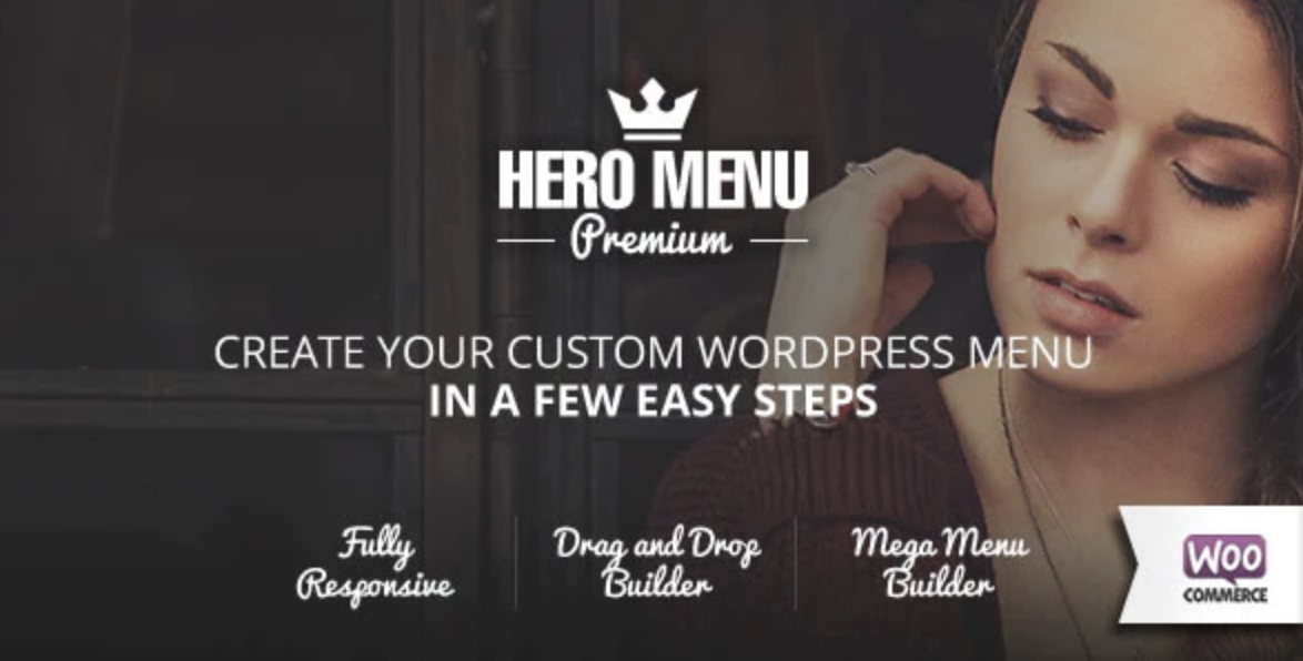 hero menu plugin to add sticky menu WordPress