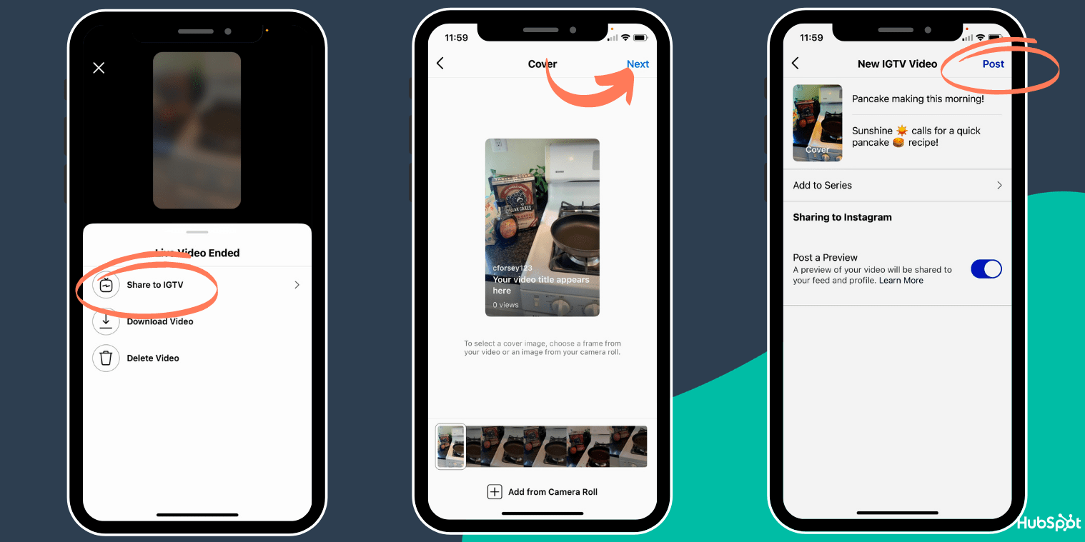 How to save your Instagram Live on IGTV