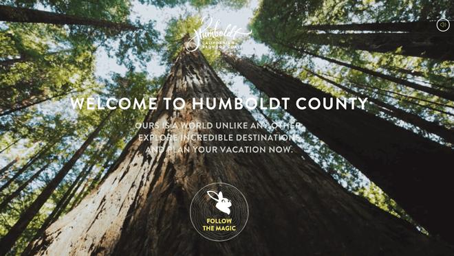 Humboldt County follow CTA button
