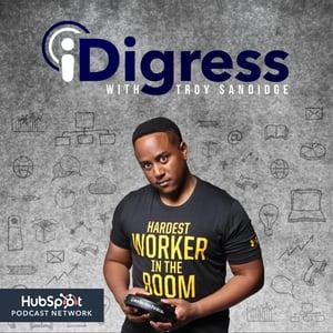 پادکست iDigress | بهترین پادکست های بازاریابی