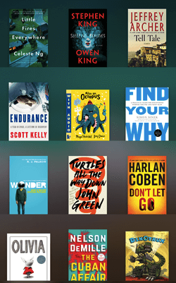 iBooks mobile app for reading an actual book