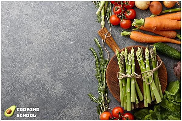 "Facebook ad image from ""Cooking School"" with acceptable text overlay."