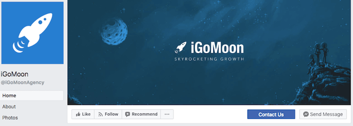 iGoMoon Facebook Business Page