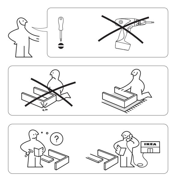 instruction manual example: ikea