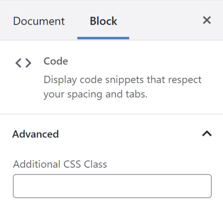 Write custom CSS in the sidebar of your WP dashboard to style the block as you see fit