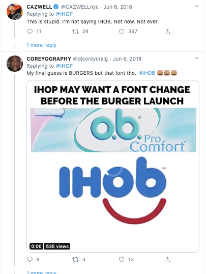 IHOB IHOP tweet replies