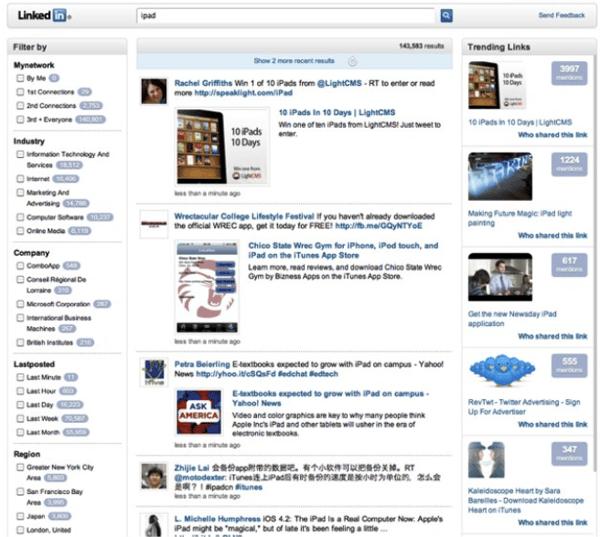 LinkedIn in 2010