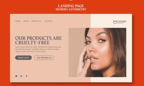 Asymmetrical Page Layout