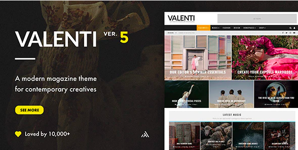 Valenti-wordpress-theme
