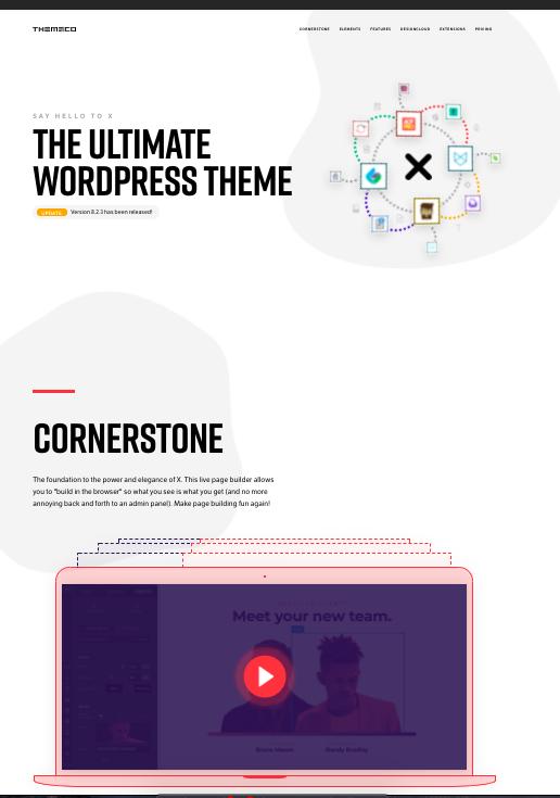 X-Wordpress-theme-full-screen