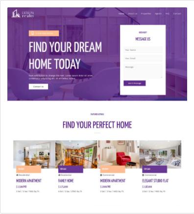 Astra Wordpress Theme for Real Estate