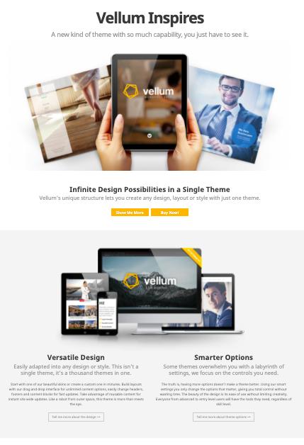 Vellum - WordPress Real Estate theme
