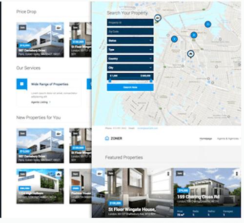 Zoner WordPress Real Estate Theme