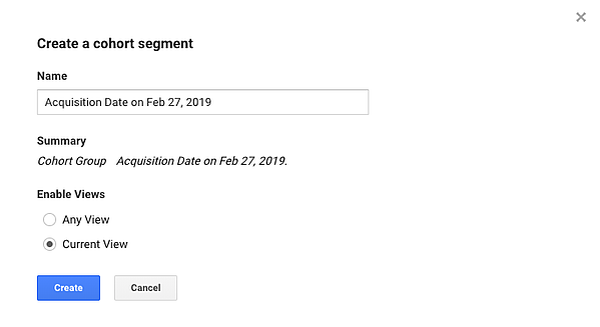 google-analytics-cohort-segment