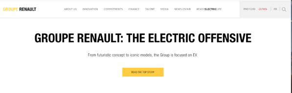 renault group homepage