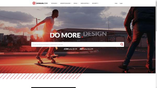 dreamhost domain registrar homepage