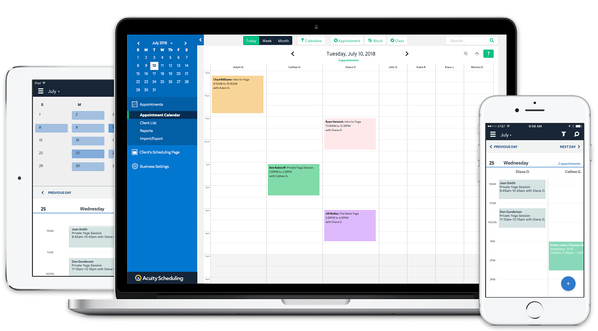 Acuity Scheduling Best Group Scheduling App