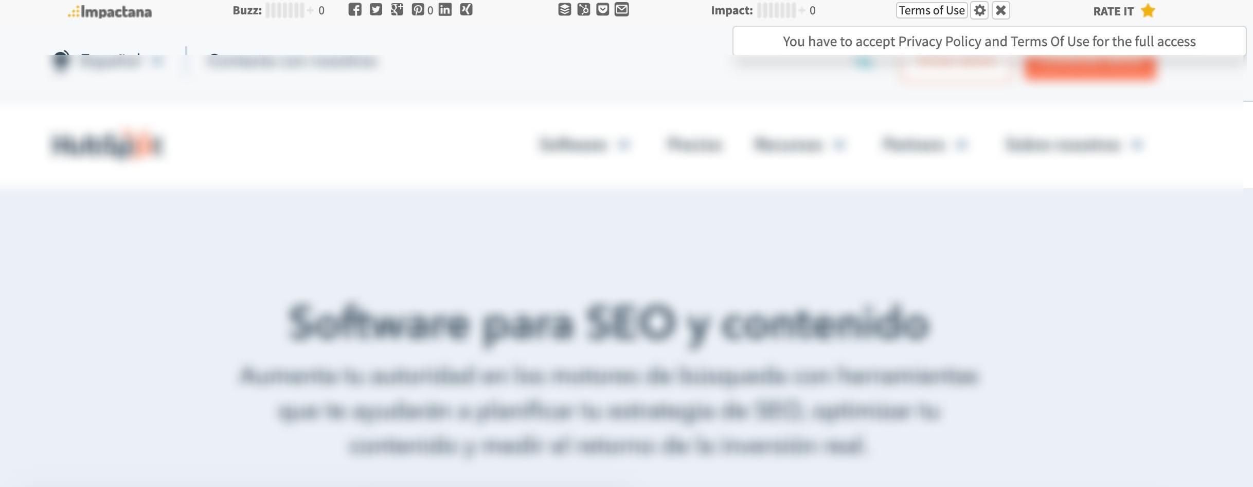برنامه افزودنی Chrome Impactana