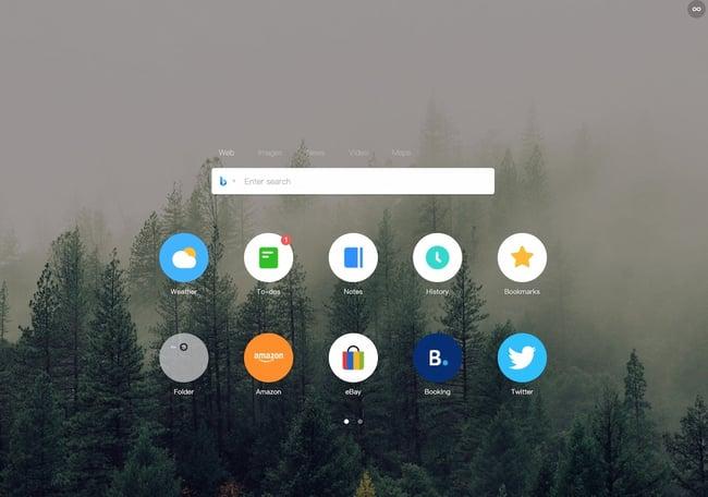 افزونه Chrome Infinity New Tab