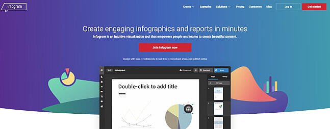 infogram design tool for interactive infographics