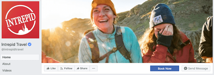 Intrepid Travel Facebook Business Page