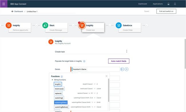 iPaaS vendors: IBM AppConnect