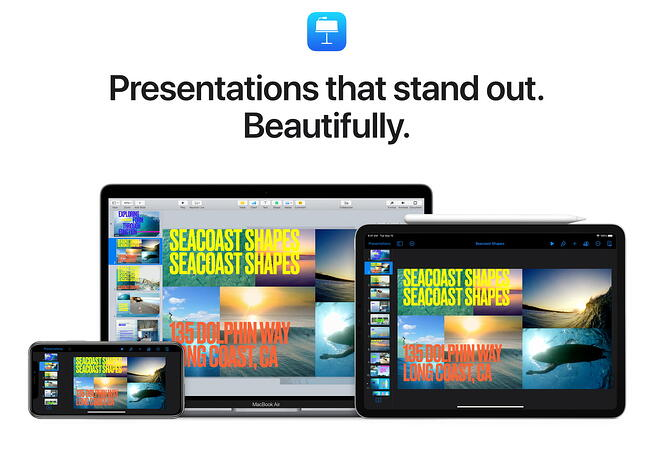 Keynote presentations