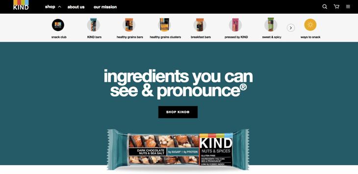 kind homepage designpng - Home Page Design