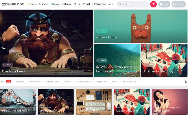 Best viral WordPress themes: King