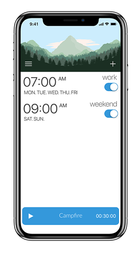 kiwake time management app