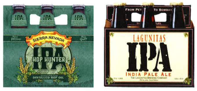 lagunitas-versus-sierra-nevada-labels.jpeg  The 14 Coolest Beer Label Designs You've Ever Seen lagunitas versus sierra nevada labels