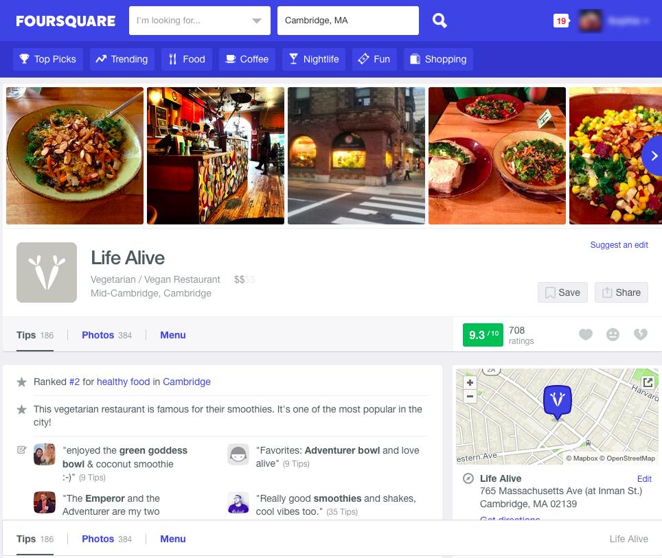 life alive foursquare