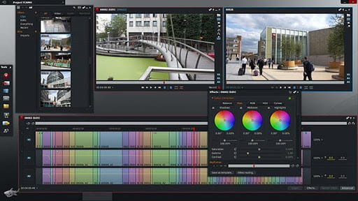 Lightworks video editor on Linux desktop