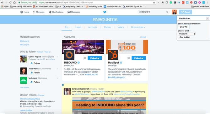 List Builder for Twitter Chrome extension