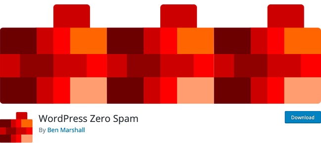 listing page of WordPress Zero Spam plugin