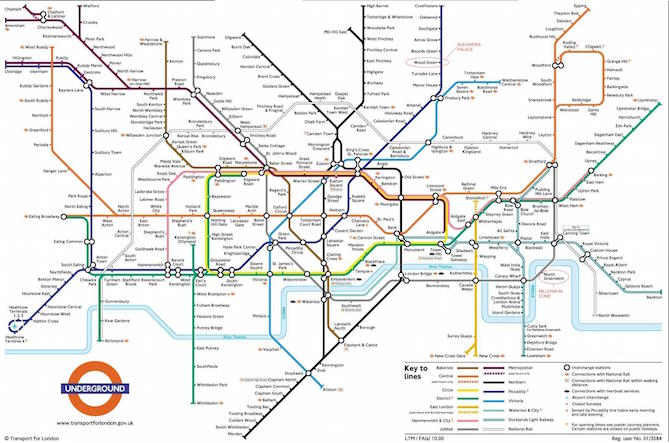 Ideal Nyc Subway Map Efficient.The Best Worst Subway Map Designs From Around The World