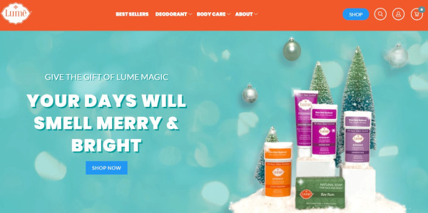 Lume vacation homepage