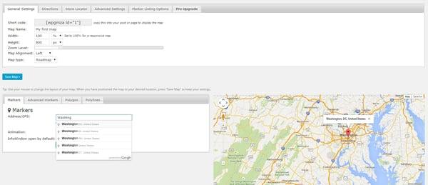 google maps wordpress plugin location marker demo
