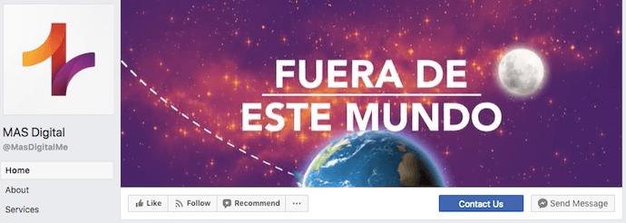 MAS Digital Facebook Business Page