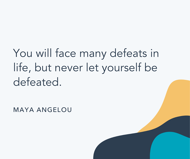 Famous quote by Maya Angelou
