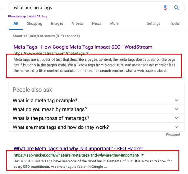 "Google查询""什么是元标记""的SERP和元描述"