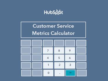 customer service calculator
